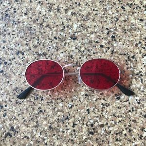 🕶red sun glasses